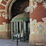 vieux entrée du Palau de la Música