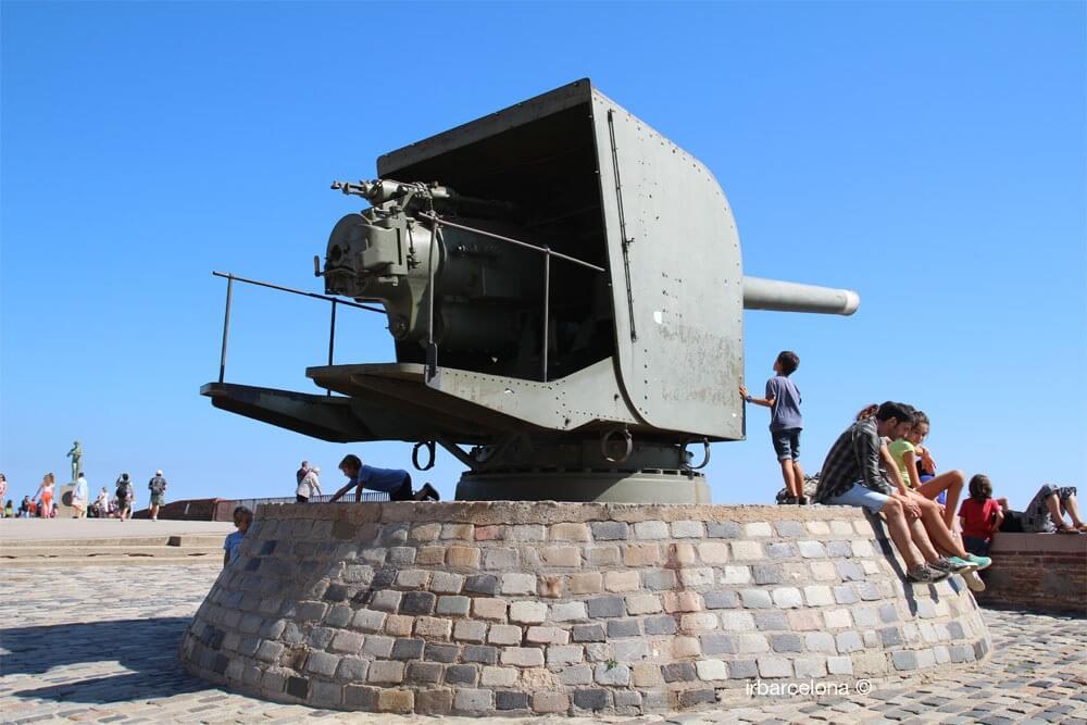 artillerie château Montjuïc
