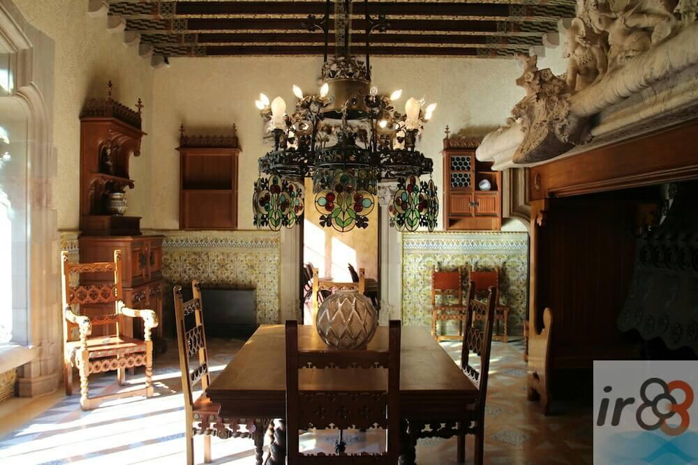 salle à manger Casa Amatller