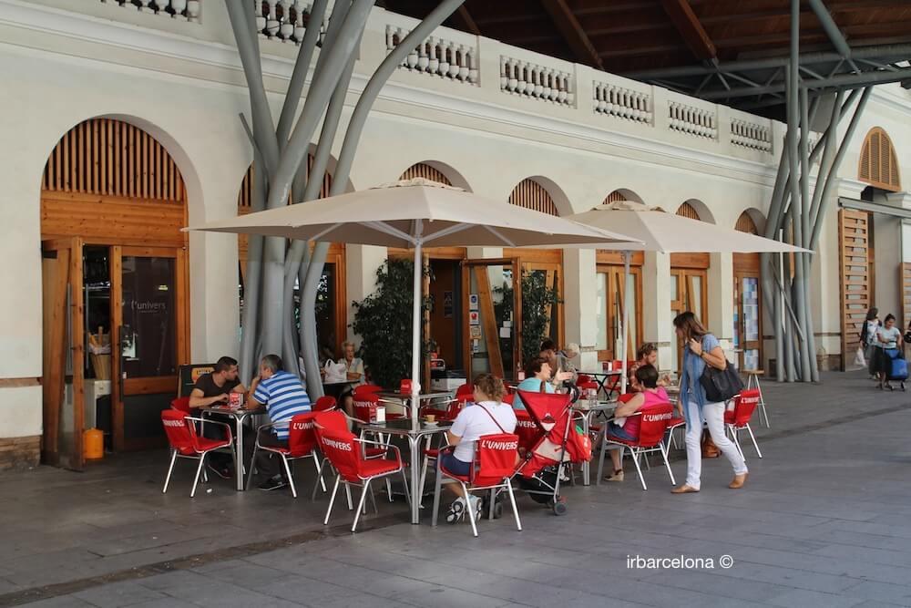 terrasse Cuines Santa Caterina
