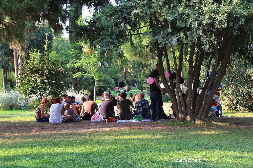 fête au Parc de la Ciutadella