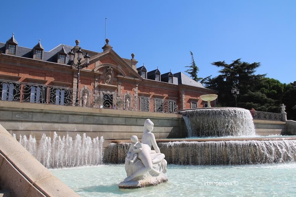 fontaine et Palauet Albéniz