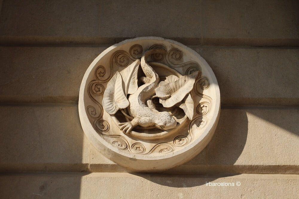 médaillon Antoni Gaudí