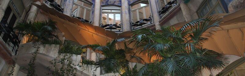 patio intérieur Casa Milà