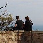 couple belvédère Jardins de Miramar