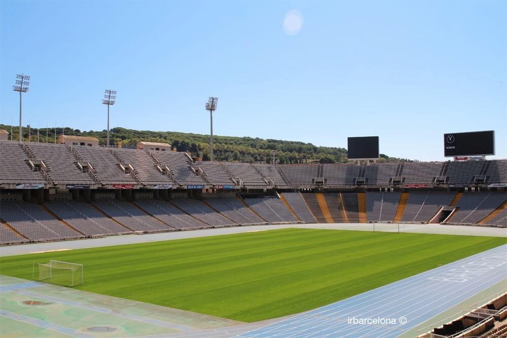 intérieur du Stade olympique