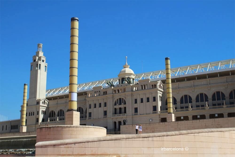 extérieur stade Olympique Barcelone