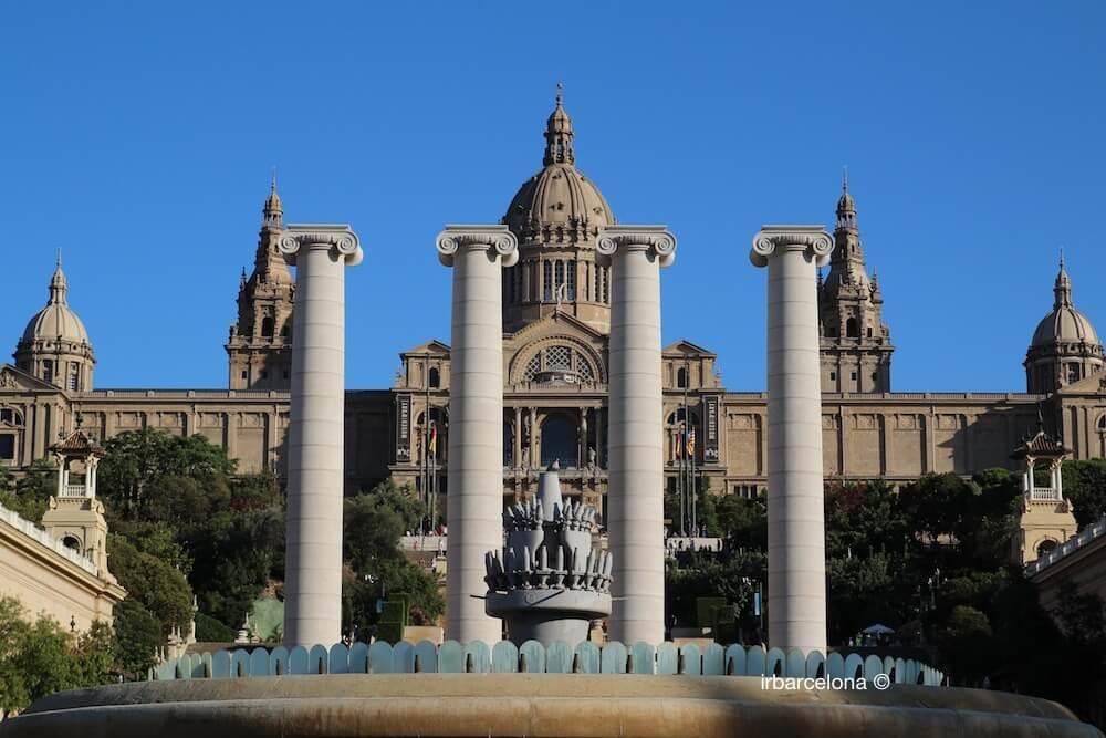Colonnes et Palau Nacional de Catalunya