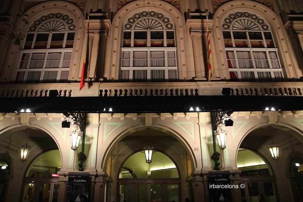 façade Gran Teatre del Liceu