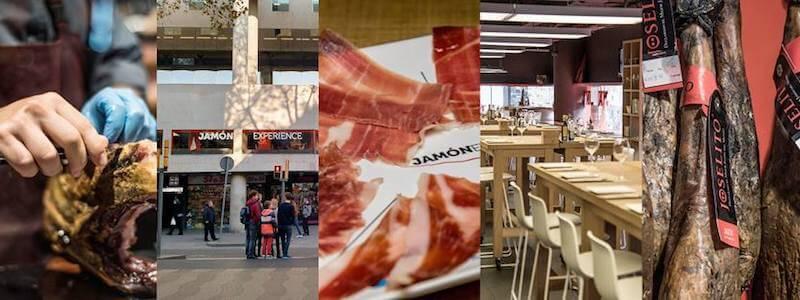 Musée maison jambon Barcelone Jamón Experience
