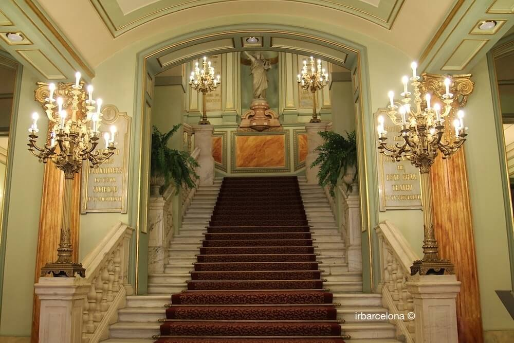 visite guidée Liceu