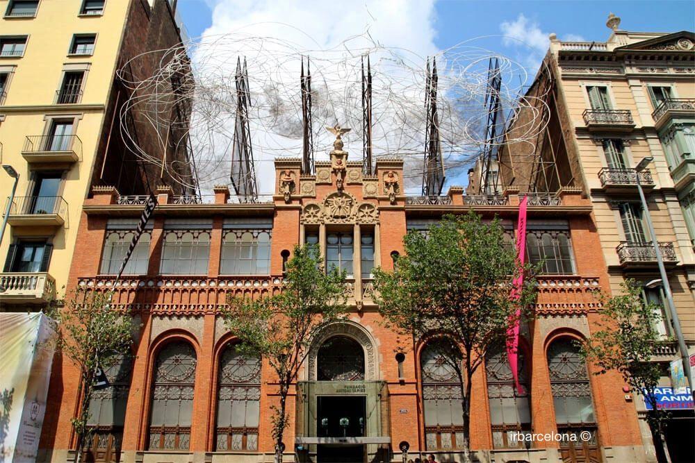 façade Fondation Antoni Tàpies