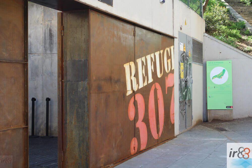 accès au Refuge 307