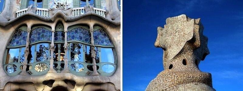 Casa Batlló et Casa Milà
