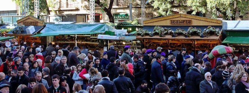 marché Noël Barcelone
