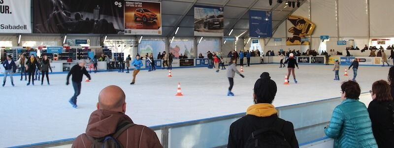 patinoire Barcelone