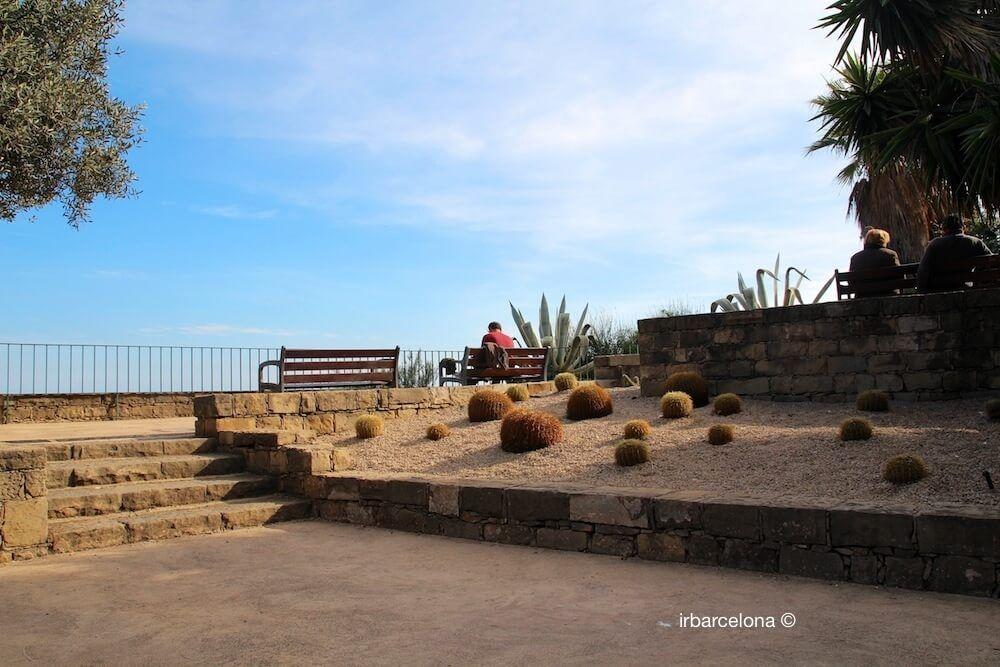 point de vue littoral Barcelone