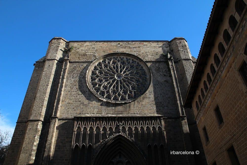 façade Santa Maria del Pi