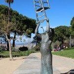 sculpture Charlie Rivel