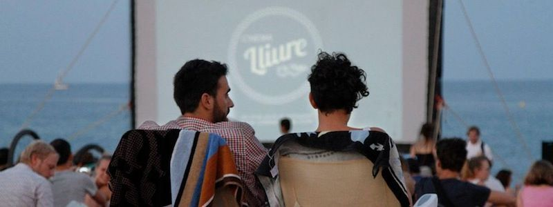 Cinema Lliure a la Platja