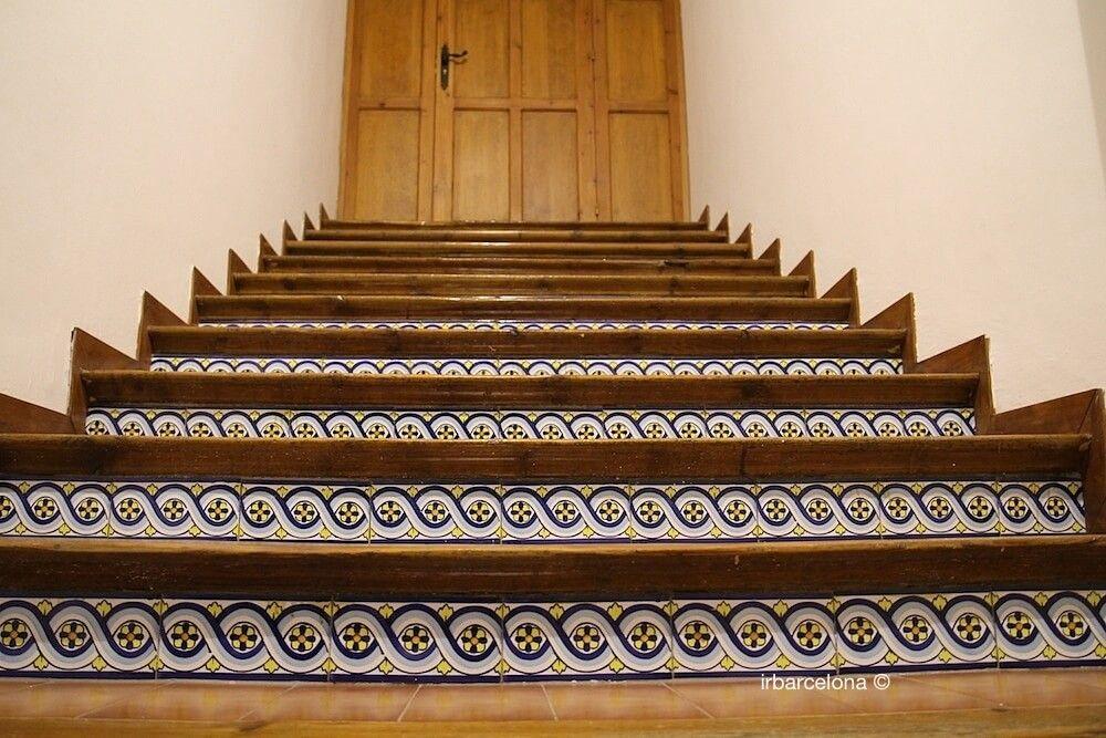 escaliers de Gaudí