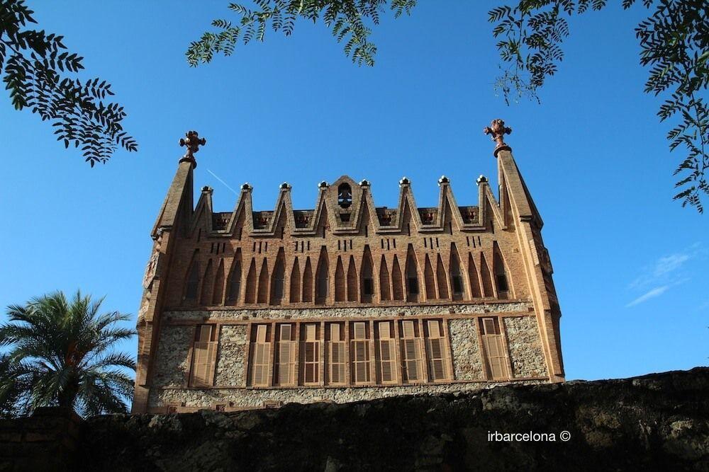 façade Col·legi de les Teresianes
