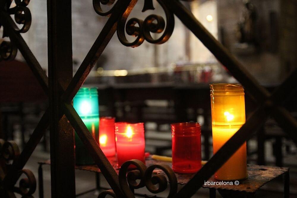 bougies église Santa Anna
