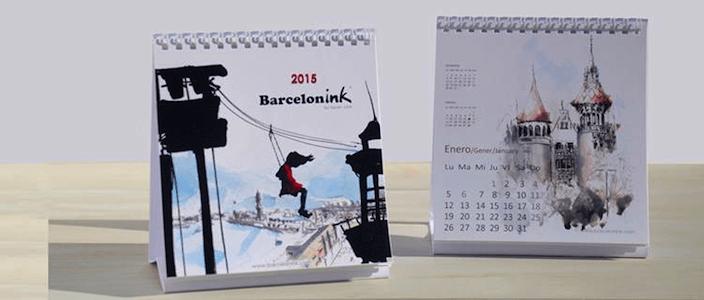 Tirage au sort du Nouveau Calendrier Barcelonink 2015