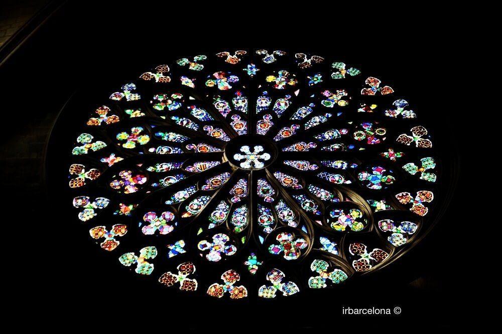 rosace Santa Maria del Pi