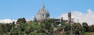 Montagne Tibidabo Barcelone