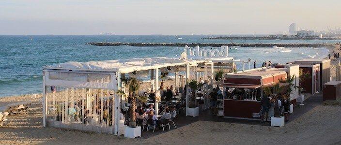 Chiringuitos (bars de plage) de Barcelone