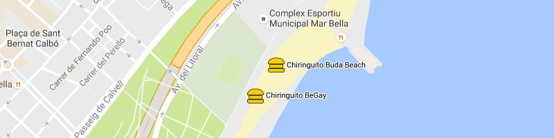 carte Buda Beach