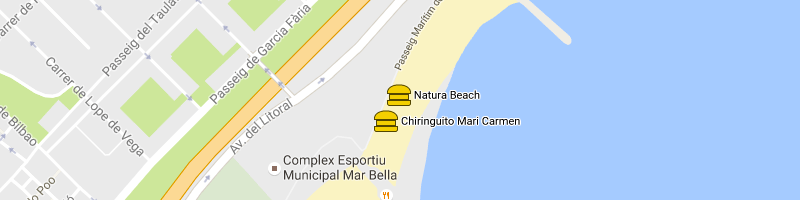 carte Natura Beach