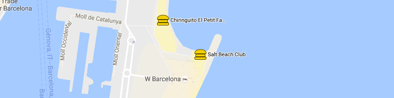 Carte Salt Beach Club