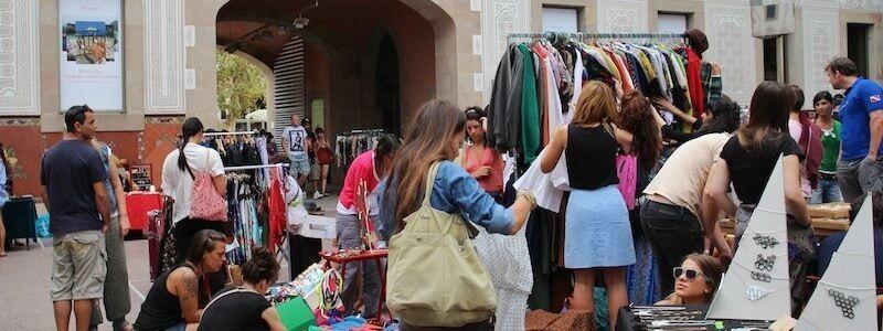marché du dimanche Barcelone