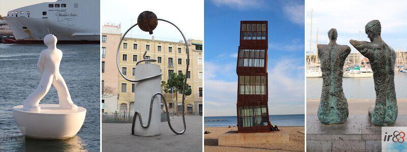 Statues et Sculptures urbaines à Barcelone