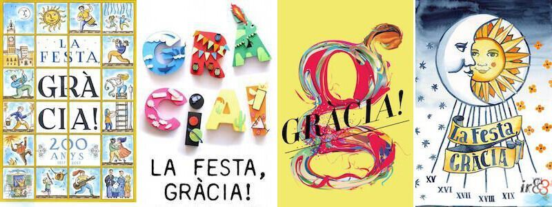 Festa Major de Gràcia Barcelone
