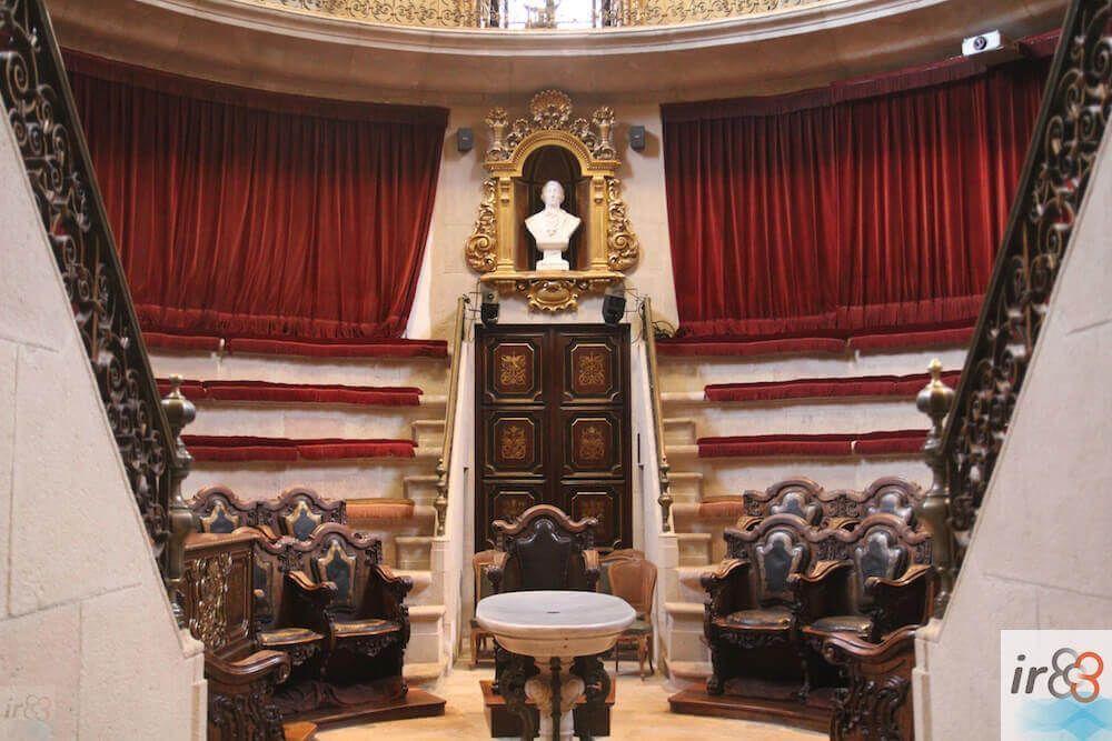Amphithéâtre Anatomique Barcelone XVIème siècle