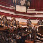 sièges style Rococo Amphithéâtre Anatomique