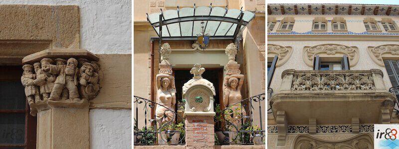 architecture de Sitges