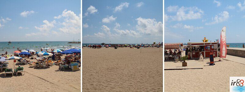 plages et criques à Sitges