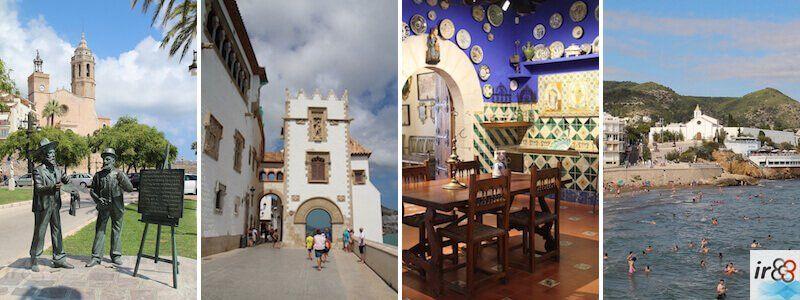 guide pour visiter Sitges