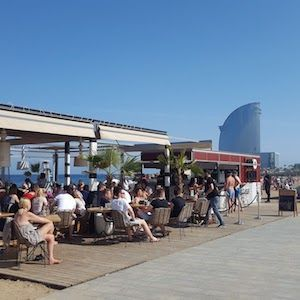 Bars de plage de Barcelone