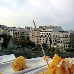 Terrasses avec vues à Barcelone