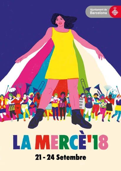 pancarte Festival La Mercè 2018