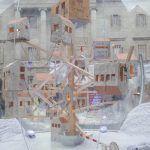 Crèche de Noël place Sant Jaume