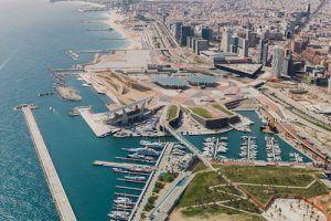 Vol au-dessus de Barcelone en hélicoptère