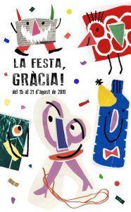 affiche Festa Major Gràcia 2019