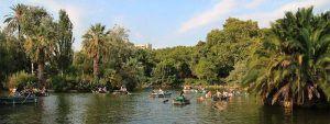 parc de bateaux de la Ciutadella