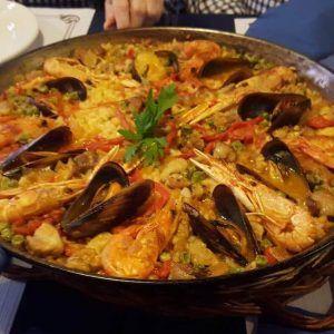 paella à Barcelone